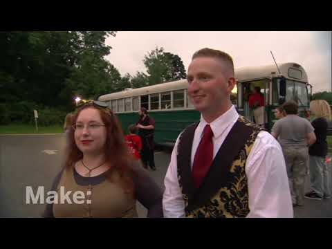 Maker Profile - Steampunk on MAKE: television