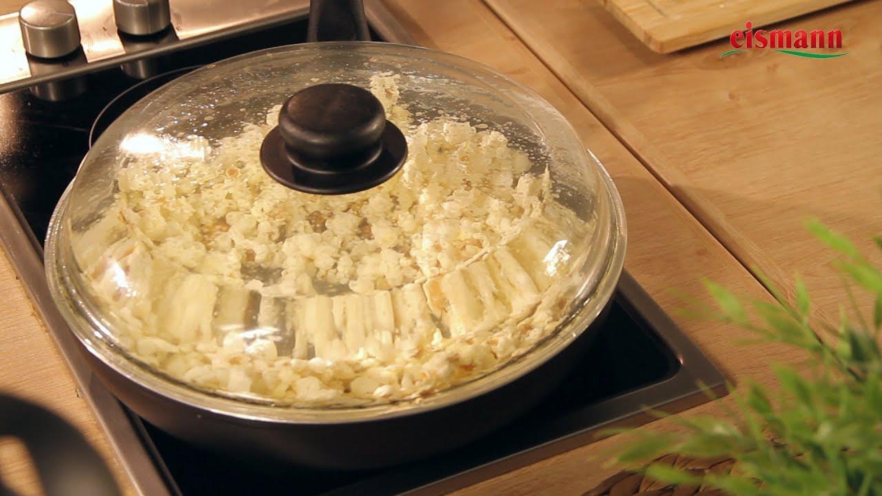 popcorn selber machen rezept einfach kochen youtube. Black Bedroom Furniture Sets. Home Design Ideas