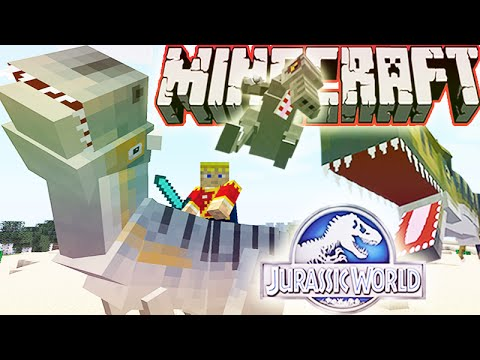 MineCraft Jurassic World RolePlay How To Train Your Dino Ep.11
