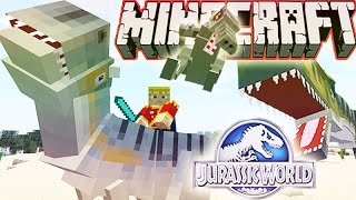 "MineCraft Jurassic World ""RolePlay"" How To Train Your Dino Ep.11"