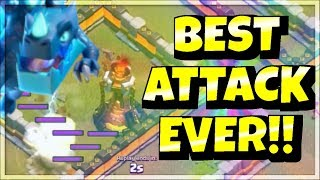 BEST 3 Star Finish EVER !!! | Electro Dragon Attack Strategy | CWL Attacks | Clash of Clans