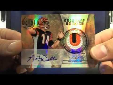 Ultimateboxbreaks.com: 2011 Gold Standard Football Box Break 5 5/16/13