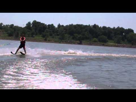 CALEB - Water ski king!