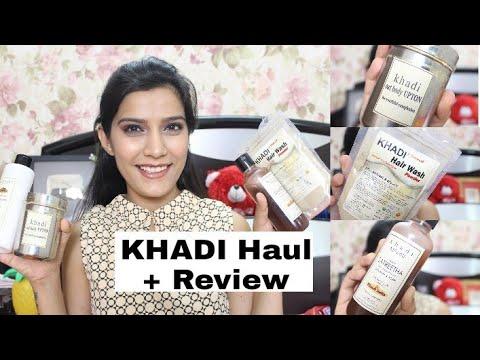 KHADI Haul & Review   Shampoo, Facewash,ETC   Affordable  & Natural Products  Super Style Tips