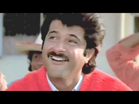 Ek Do Teen Char - Anil Kapoor,  Amit Kumar, Tezaab Song (k) video