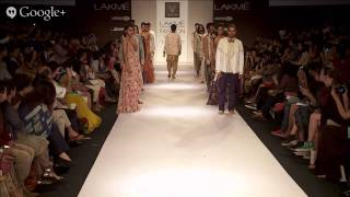Mrinalini Chandra/ Lalit Sengar/ [KA] [SHA] / N&S GAIA | Lakmé Fashion Week Summer/Resort 2014