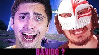 ALANZOKA BANIDO DO FORTNITE ? - Clips de Lives (ALANZOKA E HEITOR GAMES)