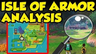 Pokemon Isle Of Armor Map Size! New Pokemon Sword and Shield Trailer Analysis