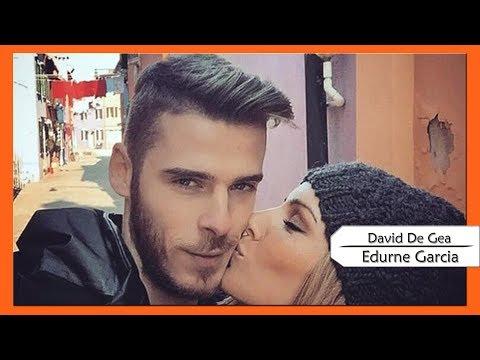 David De Gea and Edurne Garcia romantic moments