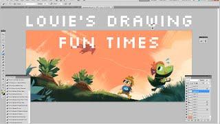 Louie's Drawing Fun Times - Episode 1
