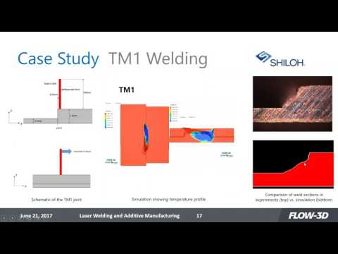 laser welding simulation Laser welding solutions are most frequently used in high volume industries, such as the automotive industry and in manufacturing the process is extremely popular where the same welding operations.