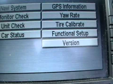 How To Get The Honda Navigation Code Youtube