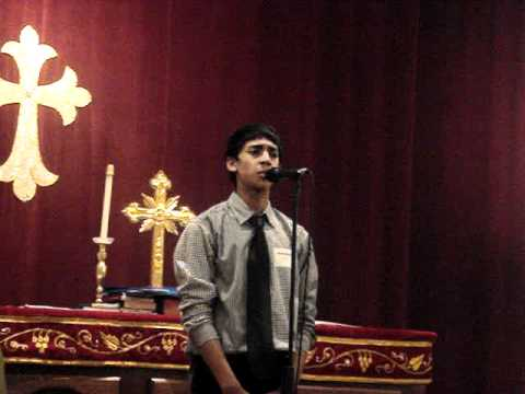 Regional Competition - Nikhil's Malayalam Solo video