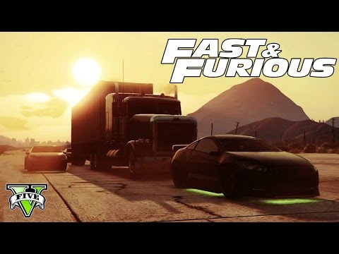 GTA 5 FAST & FURIOUS Special LiveStream!!! - Epic GTA 5 Stunts, Jumps Racing! - GTA 5 FAST & FURIOUS