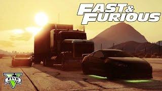 GTA 5 FAST & FURIOUS Special LiveStream!!! - Epic GTA 5 Stunts, Jumps Racing! - GTA 5 FAST & FURIOUS