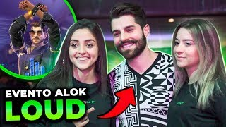 LOUD NO EVENTO DE LANÇAMENTO DO ALOK NO FREE FIRE!!