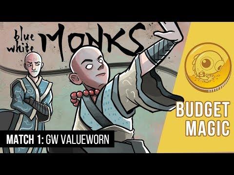 Budget Magic: UW Monks vs GW Valuetown (Match 1)
