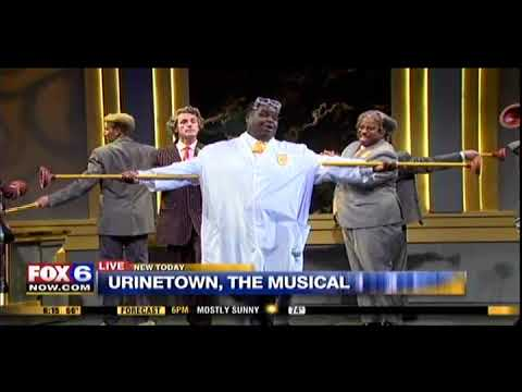"""Urinetown, The Musical"" ""Mr. Cladwell"" on FOX6 WAKE UP"