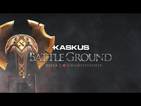 Dota 2 Bekraf Game Prime 2017 Final Kaskus Battleground