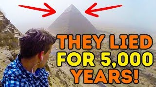 The Great Pyramid Mystery Has Been Solved