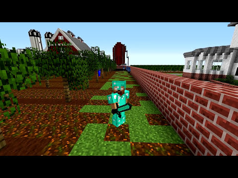 Minecraft Mods - MORPH HIDE AND SEEK - GALINHA PINTADINHA!