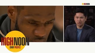 Shaquille O'Neal: LeBron James shouldn't chase rings | High Noon | ESPN