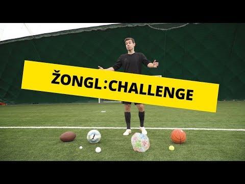 Žongl Challenge s Honzou Weberem