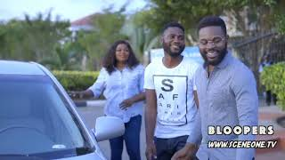 "See Jenifa's Reaction When Falz ""Sege"" Told Her To Return His Car - Behind The Scenes"