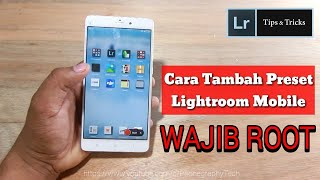 Cara Menambahkan Preset Lightroom Mobile | How to Install Presets in Lightroom Mobile For Android