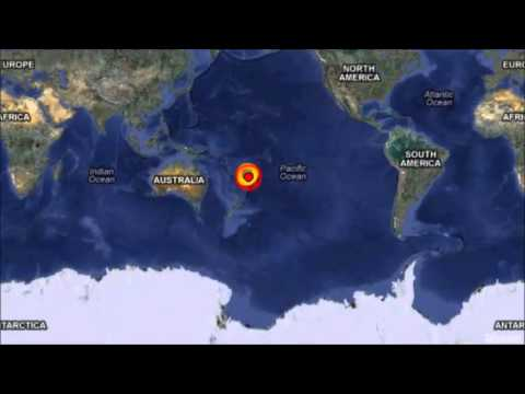 M 7.4 EARTHQUAKE - SOUTH OF THE FIJI ISLANDS May 23, 2013