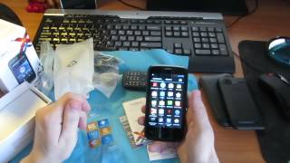 Мини обзор\распаковка смартфона teXet X-basic TM-4072