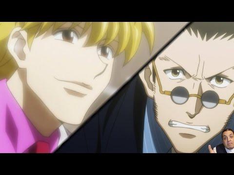 Hunter X Hunter 2011 Episode 144 ハンターハンター Anime Review -- Leorio Vs Pariston Debate video
