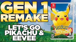 "Pokemon Let's Go Pikachu & Let's Go Eevee for Nintendo Switch ""Real Leaks"" 