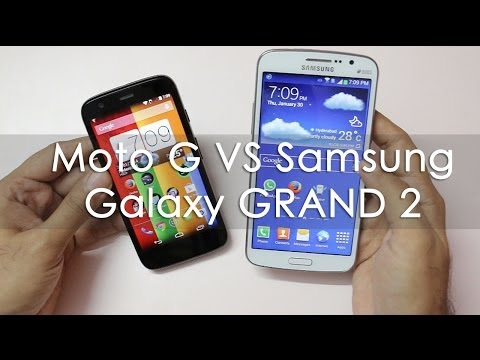 Samsung Galaxy Grand 2 VS Motorola Moto G Android Phone