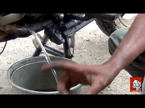 How to start a two wheeler drowned in floods? -  Latest Techniques in De-Flooding a Drowned Bike | Motor Bike repair tips in Tamil