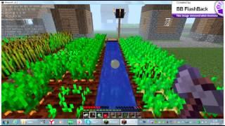 minecraft выживание в плоском мире  1 сезон