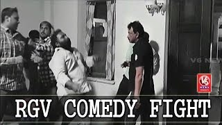 Ram Gopal Varma Comedy Fight Video Goes Viral | God Sex And Truth