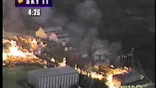 WHAS-TV 1996: 11/17/96 Distillery Fire Part 2