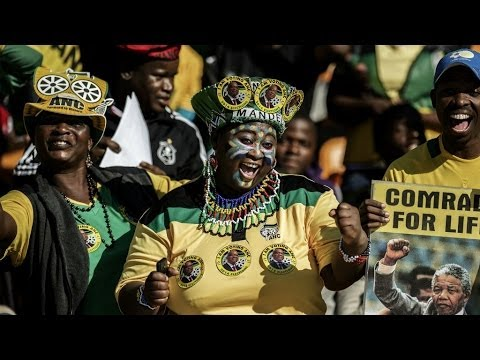 South Africa heads to the polls in first 'born free' election