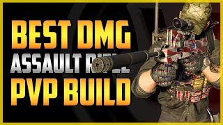 The Division 2   BEST AR DMG PVP BUILD