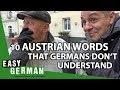 10 Austrian Words That Germans Don't Understand | Easy German 222