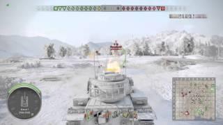 World of tanks (ps4) Fv215b gameplay