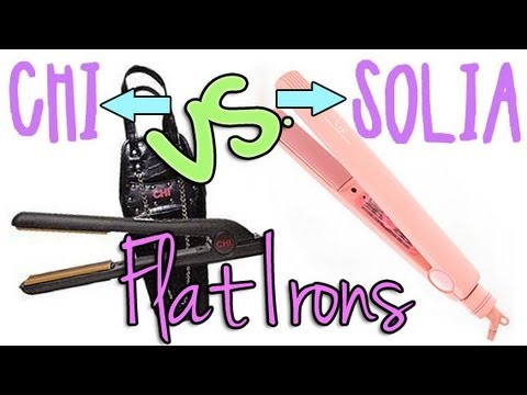 Review: Chi vs. Solia Flat Irons