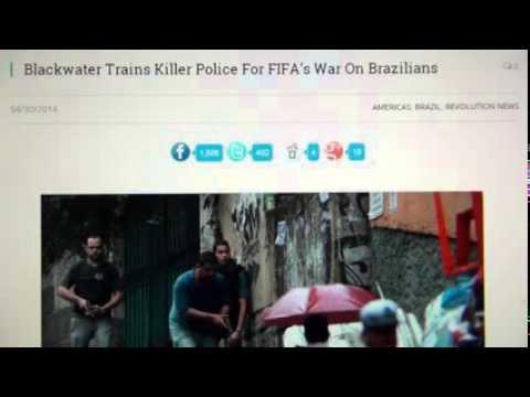 Swiss FIFA Mafia Jihadist Finance & Sepp Blatter, Qatar 2022 Slavery & Brazil World Cup Favelas