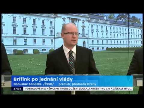 B. Sobotka promluvil o dalším kroku v čerpání prostředků z EU