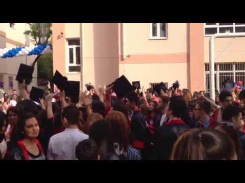 Kadıköy Ticaret Meslek Lisesi Mezuniyet 2012-2013 Kep Töreni