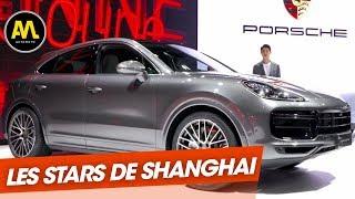 Salon de Shanghai : Porsche Cayenne coupé et autres surprises