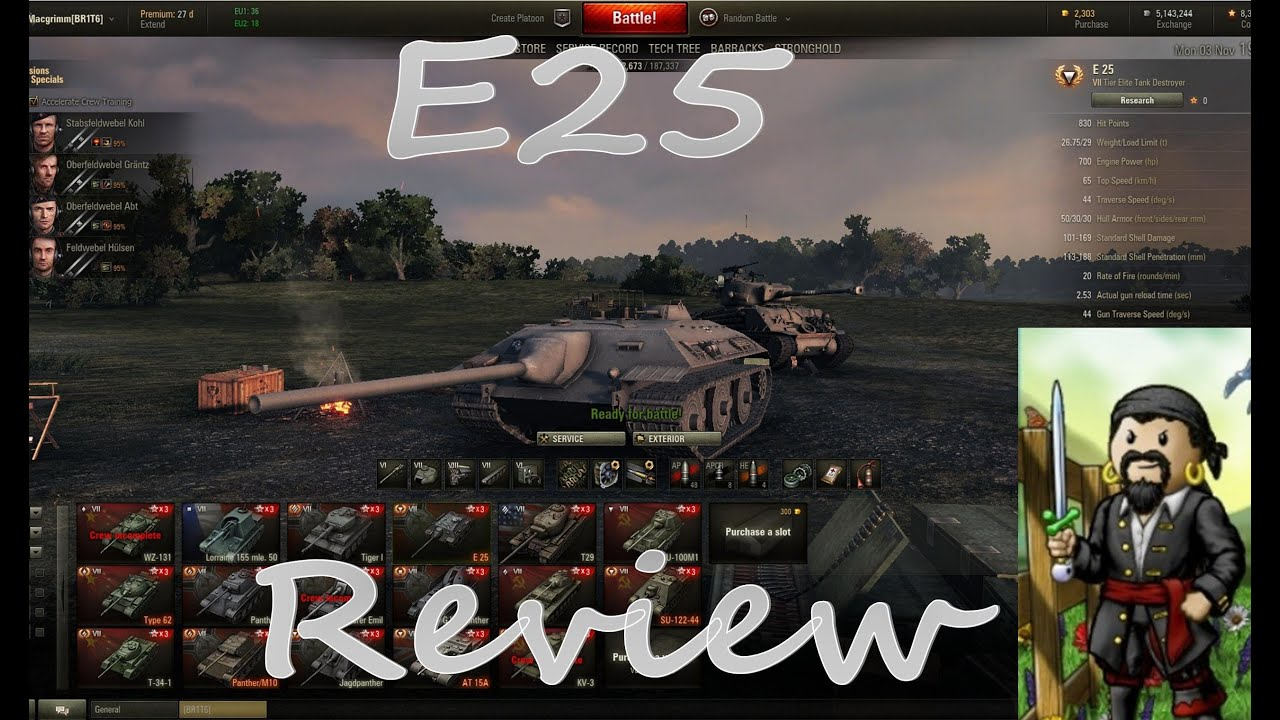 from Ethan world of tanks e25 matchmaking