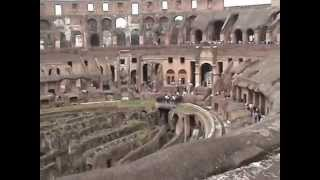 inside of collesium -Rome