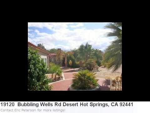 Real Estate In Desert Hot Springs, Ca- 19120 Bubbling Wells